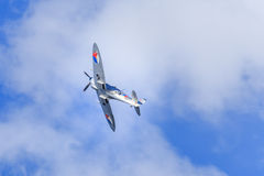 Silver Spitfire Royalty Free Stock Images