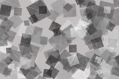 Silver square background Royalty Free Stock Photos