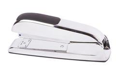 Silver stapler isoalted on white. Stock Images