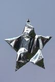 Silver star, different Royalty Free Stock Photography