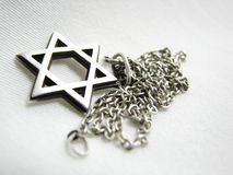Silver Star Of David Closeup 2 Royalty Free Stock Images