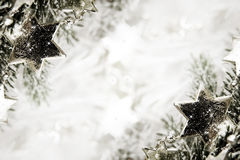 Silver stars background Royalty Free Stock Photo