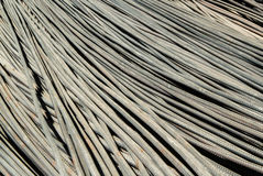 Silver steel rod Royalty Free Stock Photography