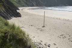 Silver Strand Beach; Malin Beg, Donegal Royalty Free Stock Photography