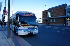 Silver Streak Bus Stock Images