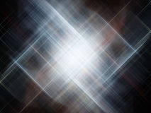 Silver streaks. Silver-blue background depicting motion and speed Royalty Free Stock Images