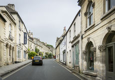 Silver Street, Bradford On Avon, Wiltshire, UK Royalty Free Stock Images