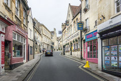 Silver Street, Bradford on Avon, Wiltshire Stock Images