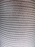 Silver string cable texture Royalty Free Stock Photo