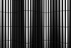 Silver stripe pattern background Royalty Free Stock Images
