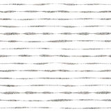 Silver striped seamless pattern Royalty Free Stock Images
