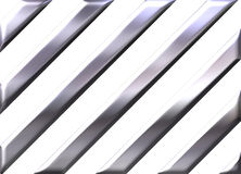Silver stripes on white background Royalty Free Stock Photo