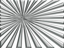Silver Sunburst Stock Images