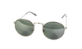 Silver sunglasses Royalty Free Stock Photo