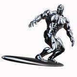Silver Surfer Stock Photography