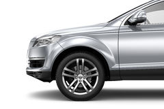 Silver SUV CAR Stock Images