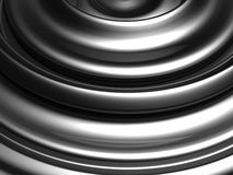 Silver swirl abstract background Stock Photo