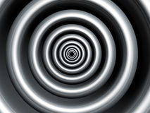 Silver swirl abstract background Royalty Free Stock Photography