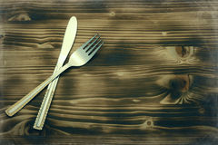 Silver Tableware Royalty Free Stock Photos