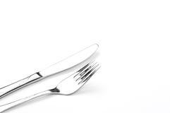 Silver Tableware Stock Image