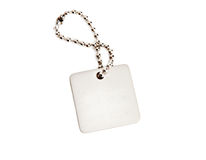 Silver tag Stock Images