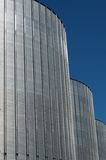 Silver tank Royalty Free Stock Photography