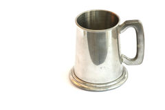 Silver tankard Royalty Free Stock Photo
