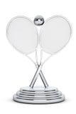 Silver Tennis Trophy Stock Photos