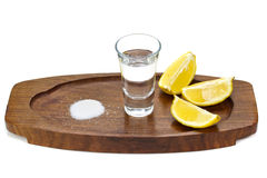 Silver tequila Royalty Free Stock Images
