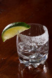 Silver tequila Royalty Free Stock Photography