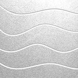 Silver texture. Abstract silver background. Silver glossy texture. Metal pattern. Abstract background stock illustration