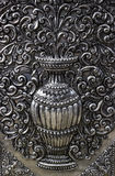 Silver Thai art Royalty Free Stock Images