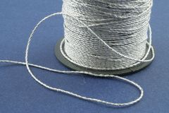 Silver Thread Royalty Free Stock Photo