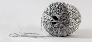 Silver Thread Stock Images