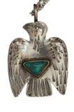 Silver Thunderbird Pendant stock photo