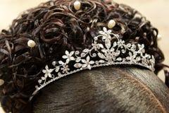 Silver Tiara Royalty Free Stock Photo