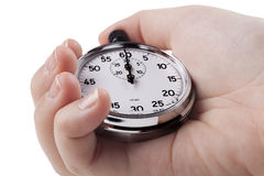 Silver Timer Stock Photography