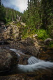 Silver Tip Falls, Wells Gray Provincial Park near Clearwater, Br Royalty Free Stock Photos