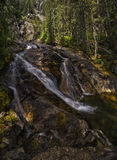 Silver Tip Falls, Wells Gray Provincial Park, North Thompson, ne Royalty Free Stock Images