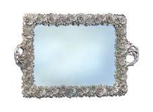 Silver tray Royalty Free Stock Photo