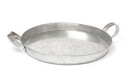 Silver tray Royalty Free Stock Photography