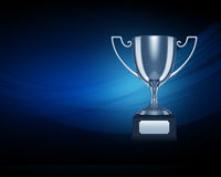 Silver trophy Stock Photography