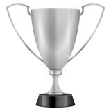 Silver trophy Royalty Free Stock Photo