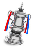The silver trophy Royalty Free Stock Images