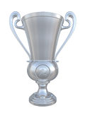 Silver trophy cup Royalty Free Stock Photos