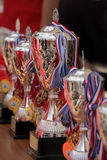 Silver trophy Royalty Free Stock Photography