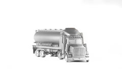 Silver truck Royalty Free Stock Image