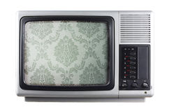 Silver tv Royalty Free Stock Photo