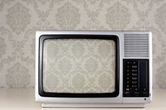 Silver tv Stock Photo