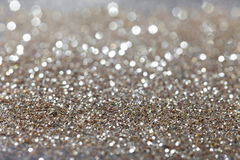 Silver twinkled background - christmas. Abstract background with silver twinkle stock images